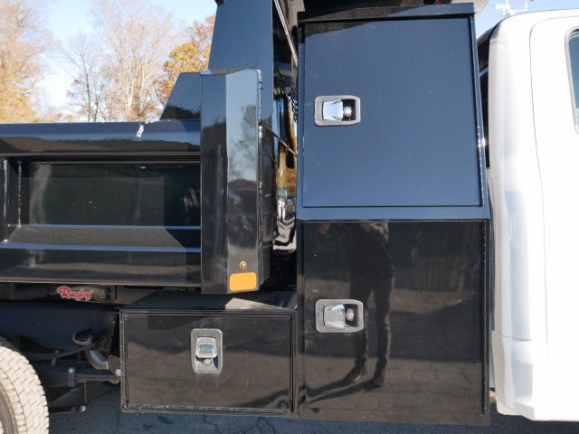 2019 F-550 Super Cab DRW 4x4, Rugby Eliminator LP Steel Dump Body #WU191378 - photo 14