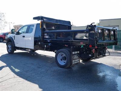 2019 F-550 Super Cab DRW 4x4, Rugby Eliminator LP Steel Dump Body #WU191378 - photo 5