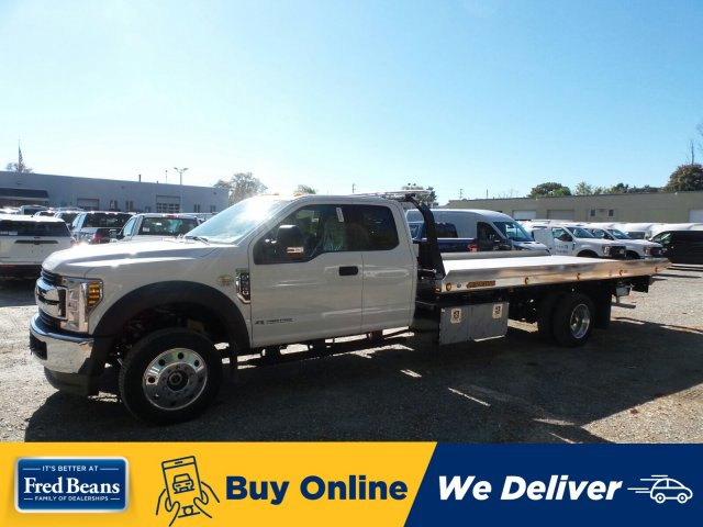 2019 F-550 Super Cab DRW 4x4, Jerr-Dan Rollback Body #WU191434 - photo 1