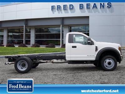 2019 Ford F-550 Regular Cab DRW RWD, Cab Chassis #WU191450 - photo 3
