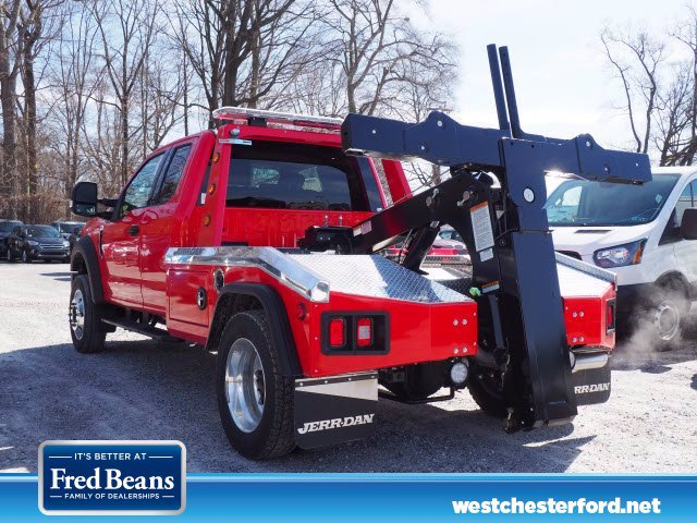 2019 Ford F-450 Super Cab DRW RWD, Jerr-Dan Wrecker Body #WU19745 - photo 1