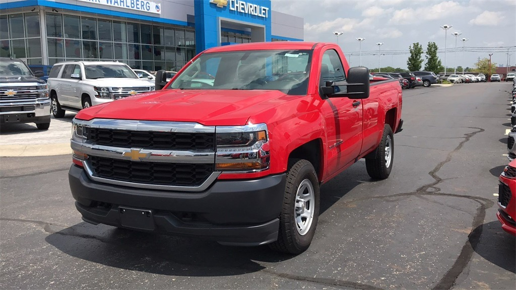 2018 Silverado 1500 Regular Cab 4x4,  Pickup #CDR163780 - photo 3