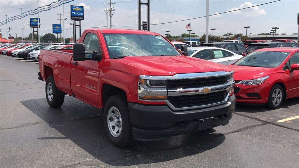 2018 Silverado 1500 Regular Cab 4x4,  Pickup #CDR163780 - photo 5