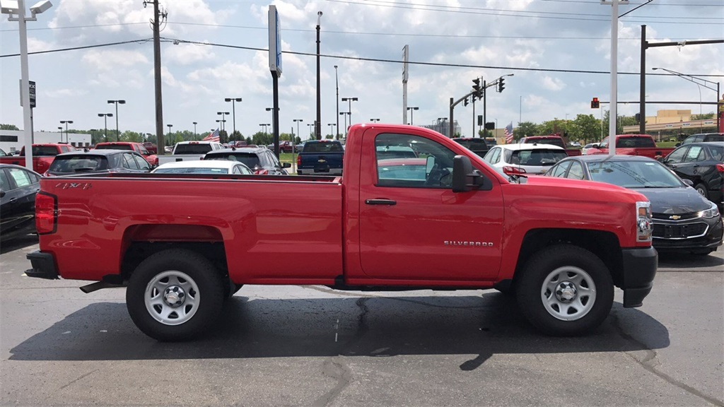 2018 Silverado 1500 Regular Cab 4x4,  Pickup #CDR163780 - photo 6
