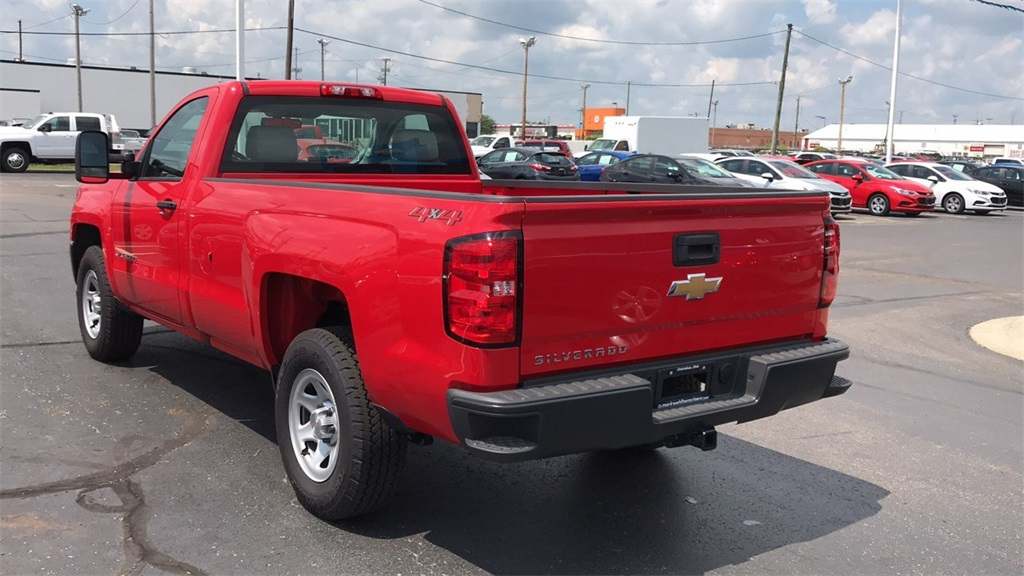2018 Silverado 1500 Regular Cab 4x4,  Pickup #CDR163780 - photo 8