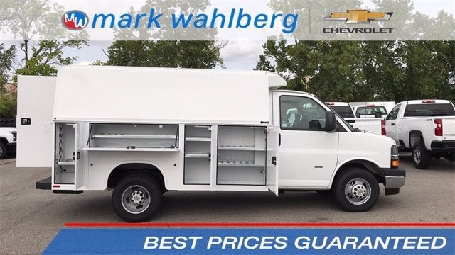 2020 Chevrolet Express 3500 4x2, Knapheide Service Utility Van #CF0T250944 - photo 1