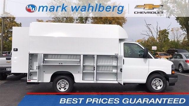 2020 Chevrolet Express 3500 RWD, Knapheide Service Utility Van #CF0T259433 - photo 1
