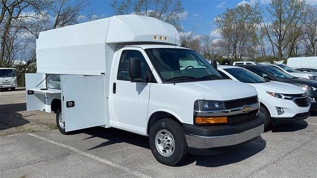 2020 Chevrolet Express 3500 4x2, Knapheide KUV Service Utility Van #CF0T276954 - photo 3