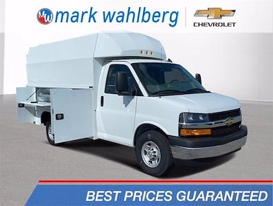 2020 Chevrolet Express 3500 4x2, Knapheide KUV Service Utility Van #CF0T276954 - photo 1