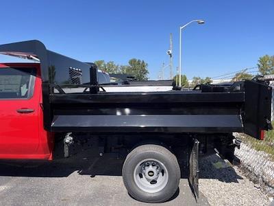 2021 Silverado 3500 Crew Cab 4x4,  Knapheide Rigid Side Dump Body #CF1T243513 - photo 2