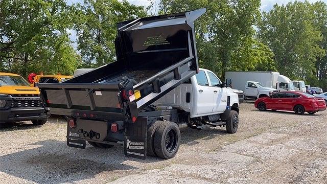 2020 Chevrolet Silverado 5500 Crew Cab DRW 4x4, Crysteel Dump Body #CF1T613246 - photo 1