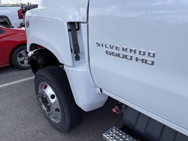 2021 Silverado 5500 Regular Cab DRW 4x4,  Cab Chassis #CF1T840920 - photo 4