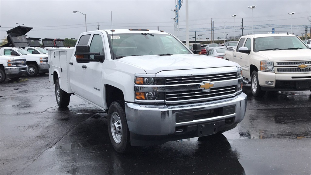 2018 Silverado 2500 Crew Cab 4x4,  Service Body #CF8T273994 - photo 5