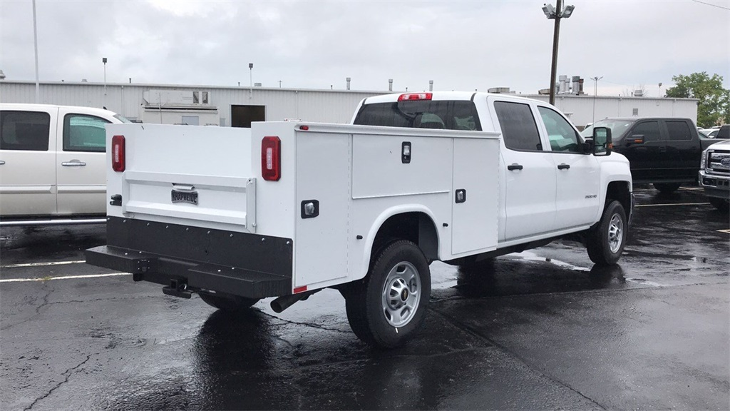 2018 Silverado 2500 Crew Cab 4x4,  Service Body #CF8T273994 - photo 2
