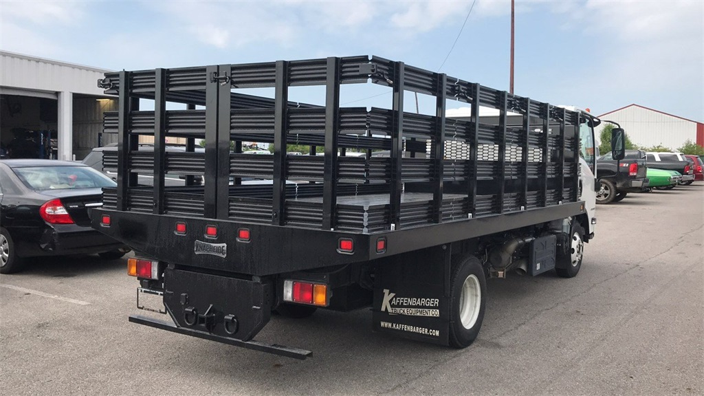 2018 Chevrolet LCF 4500HD Regular Cab 4x2,  Knapheide Stake Bed #CF9T007881 - photo 1