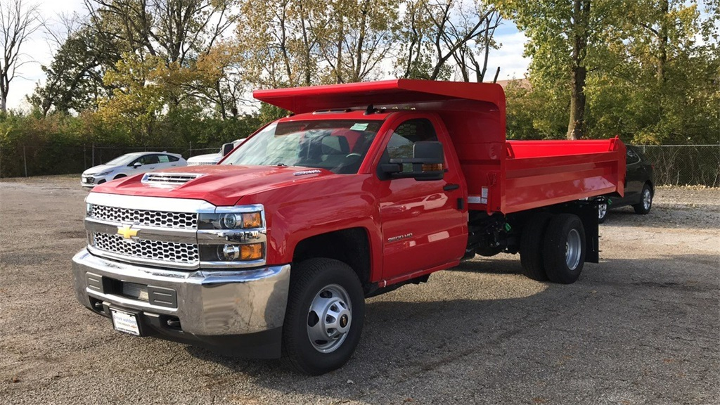 2019 Silverado 3500 Regular Cab DRW 4x4,  Knapheide Dump Body #CF9T105906 - photo 3