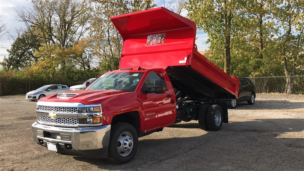 2019 Silverado 3500 Regular Cab DRW 4x4,  Knapheide Dump Body #CF9T105906 - photo 4