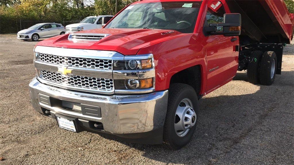 2019 Silverado 3500 Regular Cab DRW 4x4,  Knapheide Dump Body #CF9T105906 - photo 5