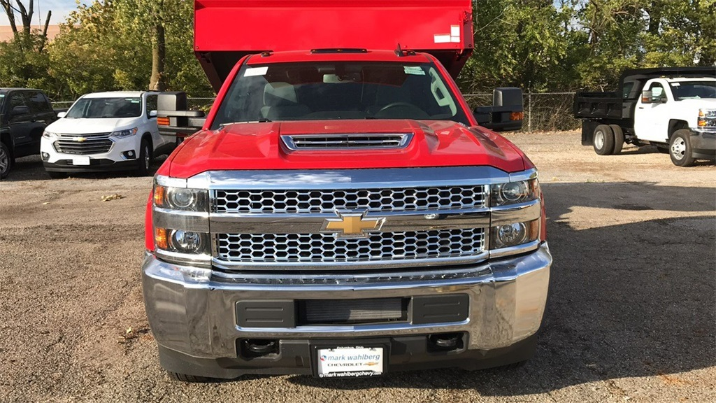 2019 Silverado 3500 Regular Cab DRW 4x4,  Knapheide Dump Body #CF9T105906 - photo 6