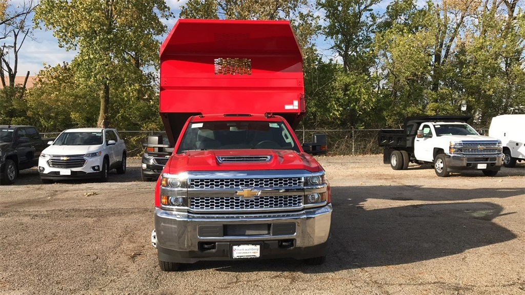 2019 Silverado 3500 Regular Cab DRW 4x4,  Knapheide Dump Body #CF9T105906 - photo 7