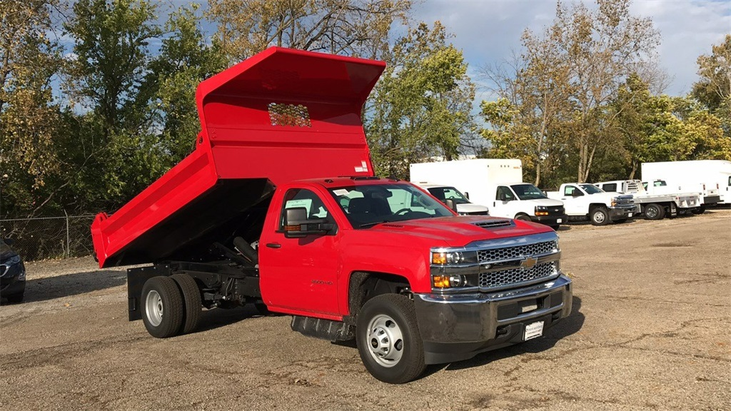 2019 Silverado 3500 Regular Cab DRW 4x4,  Knapheide Dump Body #CF9T105906 - photo 8