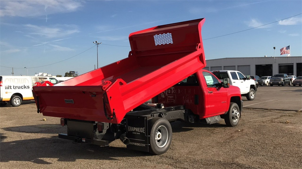 2019 Silverado 3500 Regular Cab DRW 4x4,  Knapheide Dump Body #CF9T105906 - photo 9