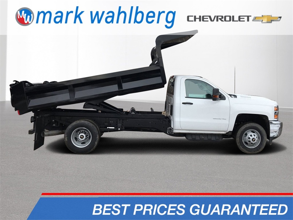 2019 Silverado 3500 Regular Cab DRW 4x4,  Knapheide Rigid Side Dump Body #CF9T107715 - photo 1