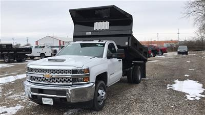 2019 Silverado 3500 Regular Cab DRW 4x4,  Knapheide Rigid Side Dump Body #CF9T107715 - photo 2