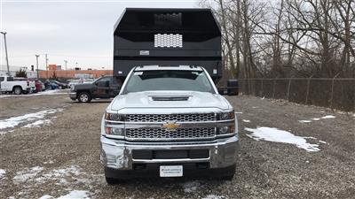 2019 Silverado 3500 Regular Cab DRW 4x4,  Knapheide Rigid Side Dump Body #CF9T107715 - photo 3