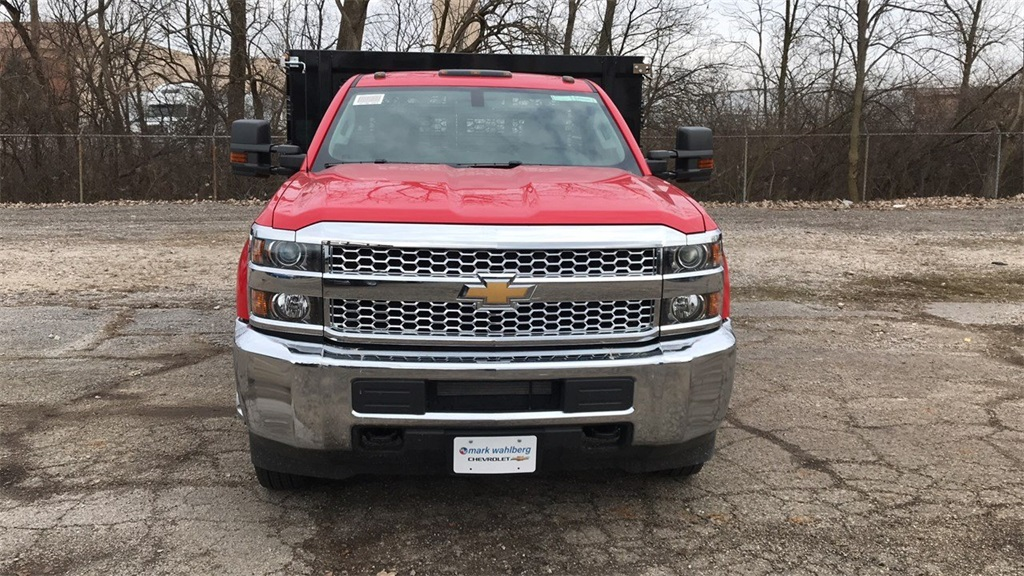 2019 Silverado 3500 Regular Cab DRW 4x2,  Knapheide Stake Bed #CF9T119889 - photo 6