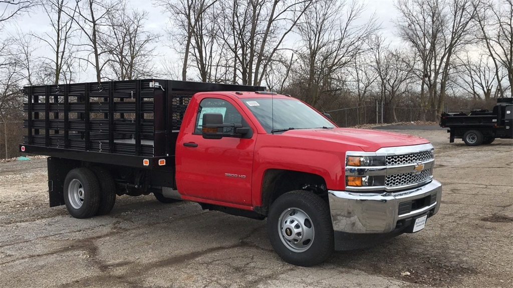 2019 Silverado 3500 Regular Cab DRW 4x2,  Knapheide Stake Bed #CF9T119889 - photo 7