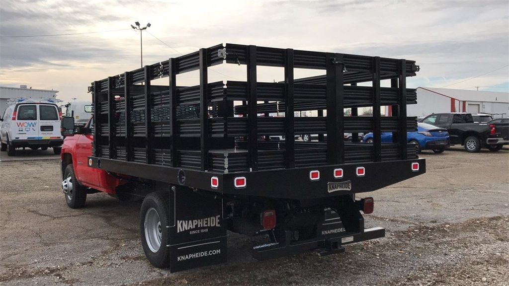 2019 Silverado 3500 Regular Cab DRW 4x2,  Knapheide Stake Bed #CF9T119889 - photo 2