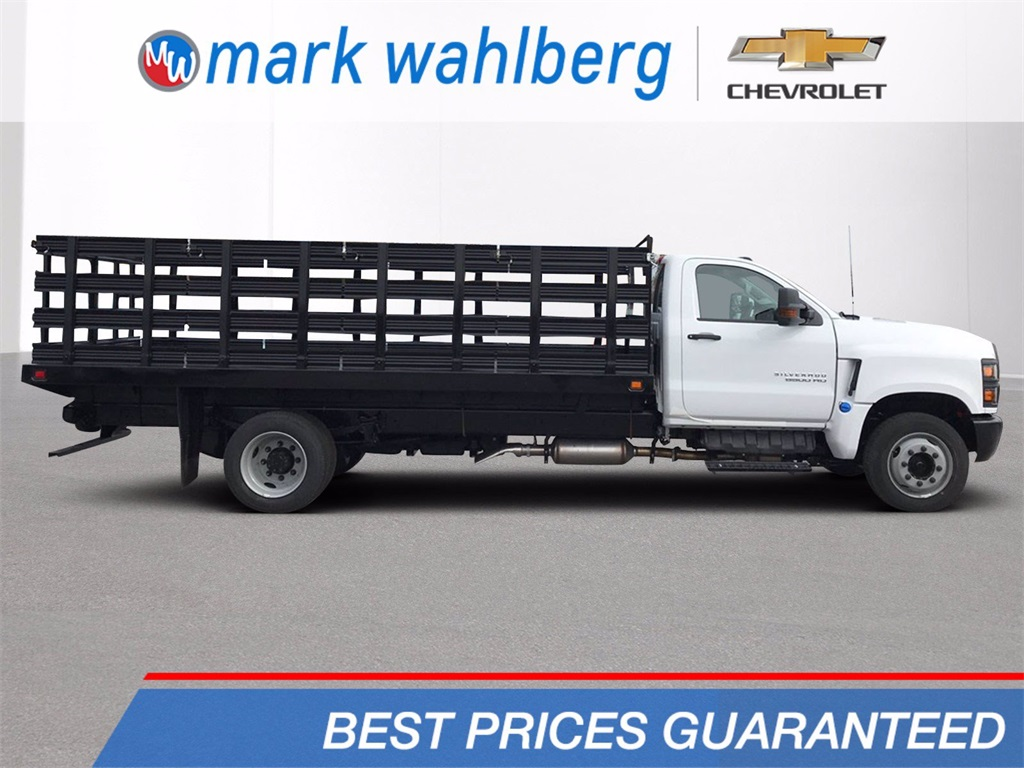 2019 Chevrolet Silverado Medium Duty Regular Cab DRW 4x2, Knapheide Stake Bed #CF9T153049 - photo 1