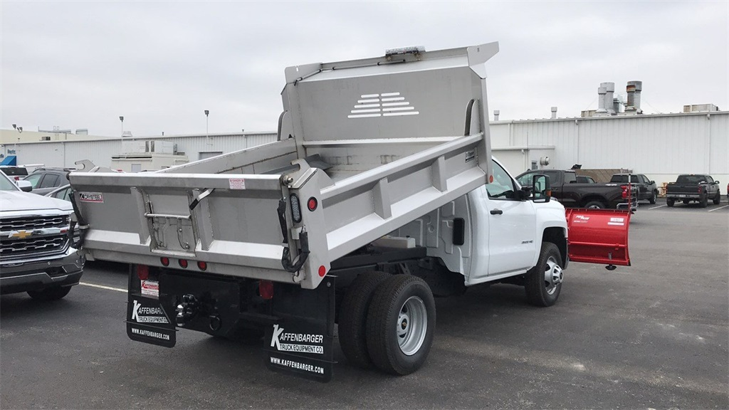 2019 Silverado 3500 Regular Cab DRW 4x4,  Crysteel Dump Body #CF9T153827 - photo 6