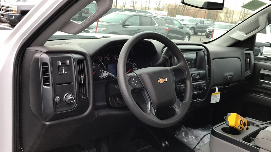 2019 Silverado 3500 Regular Cab DRW 4x4,  Crysteel Dump Body #CF9T153827 - photo 12