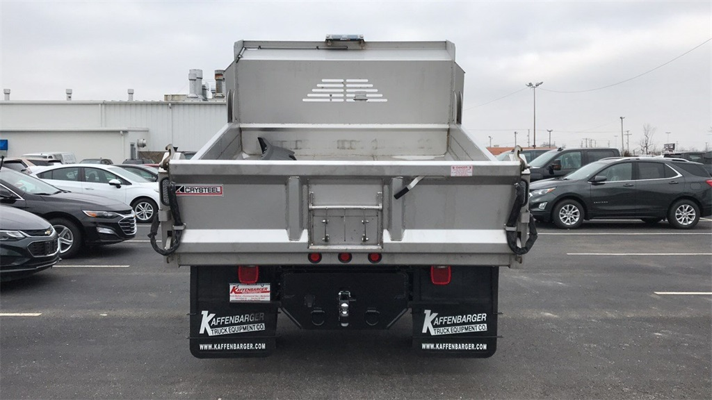 2019 Silverado 3500 Regular Cab DRW 4x4,  Crysteel Dump Body #CF9T153827 - photo 7