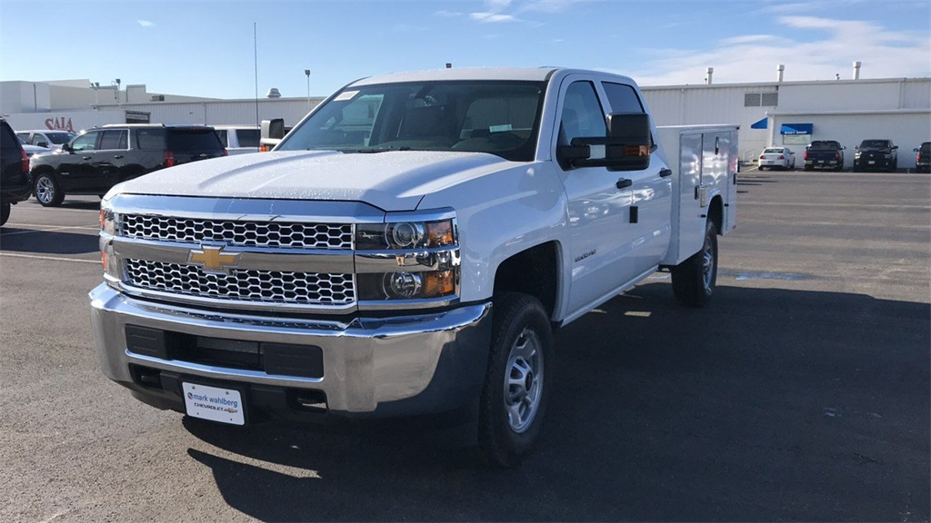 2019 Silverado 2500 Crew Cab 4x4,  Pickup #CF9T155326 - photo 3