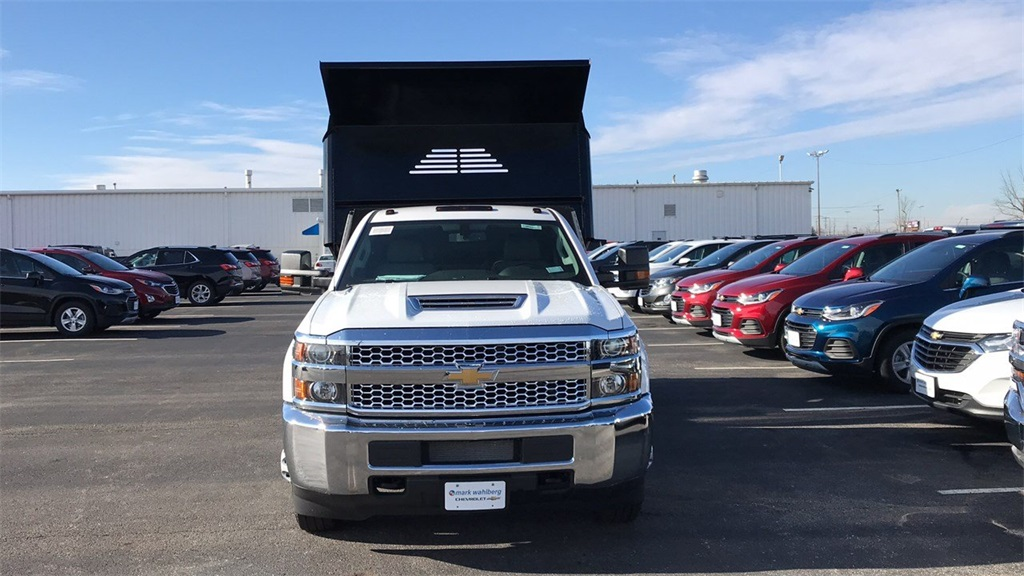 2019 Silverado 3500 Regular Cab DRW 4x4,  Crysteel Dump Body #CF9T160066 - photo 5