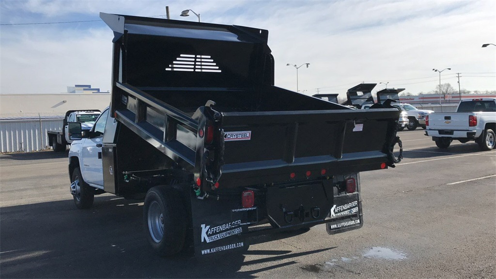 2019 Silverado 3500 Regular Cab DRW 4x4,  Crysteel Dump Body #CF9T160066 - photo 2