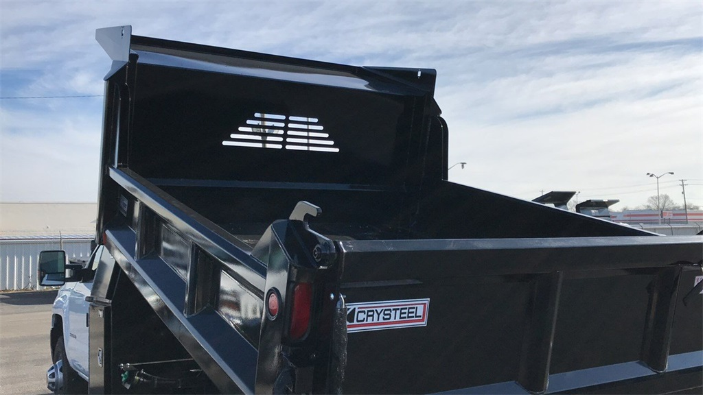 2019 Silverado 3500 Regular Cab DRW 4x4,  Crysteel Dump Body #CF9T160066 - photo 9