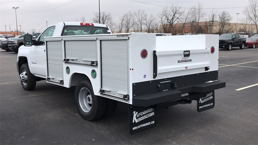 2019 Silverado 3500 Regular Cab DRW 4x4,  Duramag Service Body #CF9T161039 - photo 12