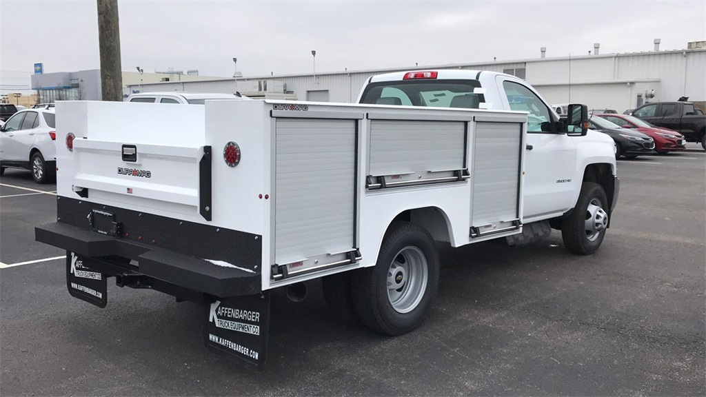 2019 Silverado 3500 Regular Cab DRW 4x4,  Duramag Service Body #CF9T161039 - photo 2