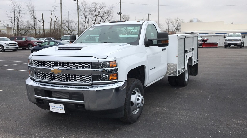 2019 Silverado 3500 Regular Cab DRW 4x4,  Duramag Service Body #CF9T161039 - photo 3