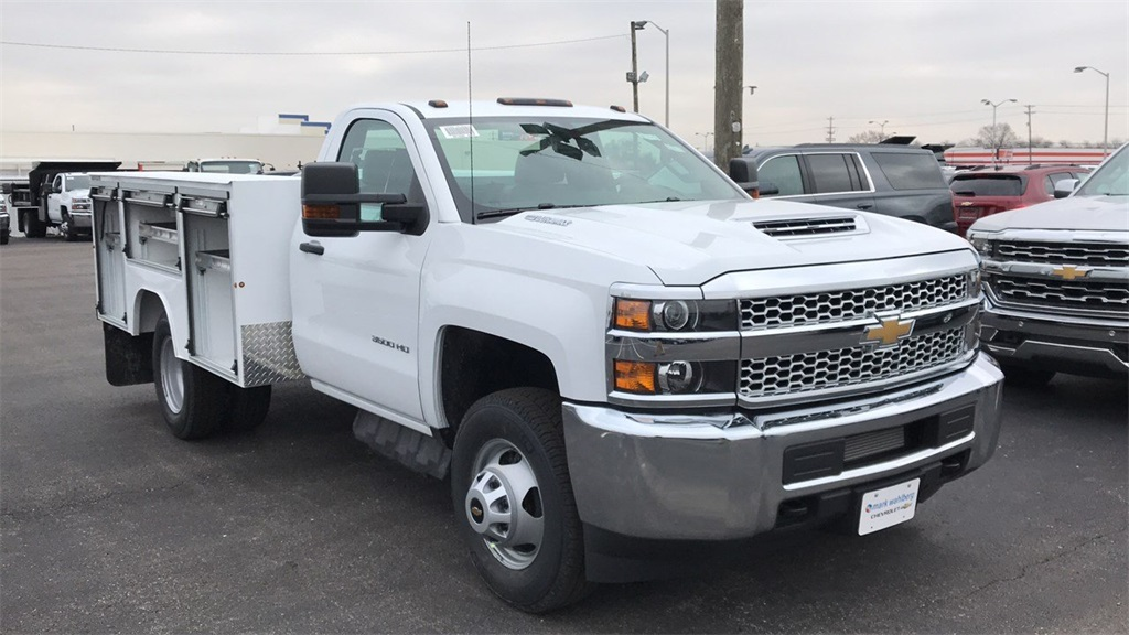 2019 Silverado 3500 Regular Cab DRW 4x4,  Duramag Service Body #CF9T161039 - photo 6