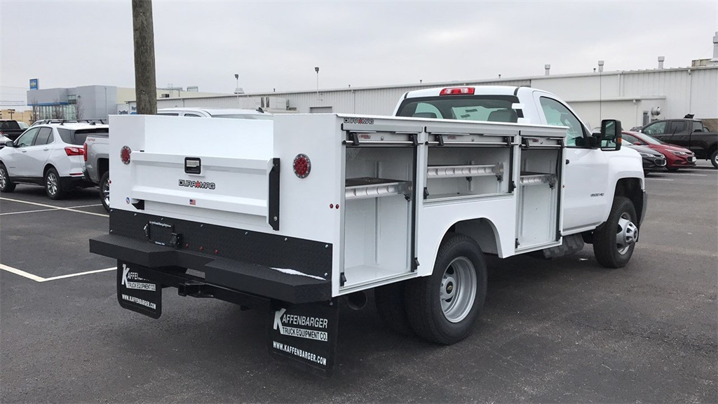 2019 Silverado 3500 Regular Cab DRW 4x4,  Duramag Service Body #CF9T161039 - photo 7