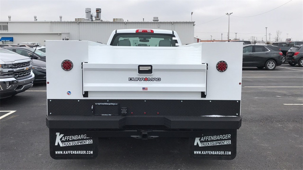 2019 Silverado 3500 Regular Cab DRW 4x4,  Duramag Service Body #CF9T161039 - photo 9
