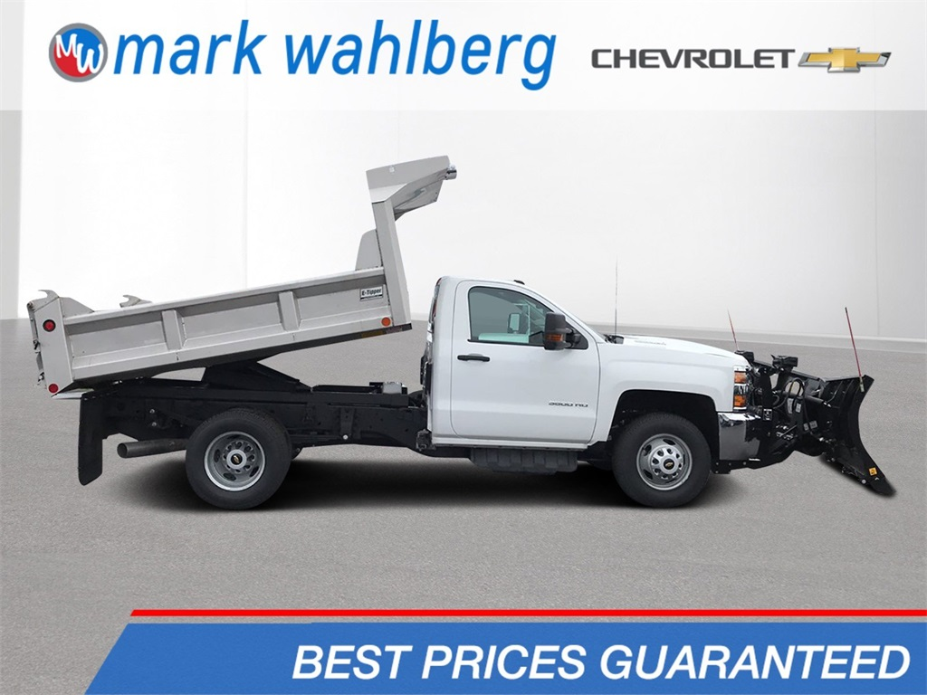 2019 Silverado 3500 Regular Cab DRW 4x4,  Crysteel Dump Body #CF9T161371 - photo 1