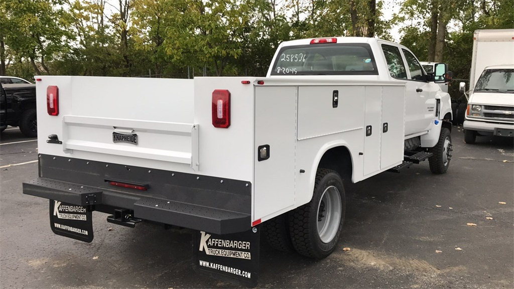 2019 Chevrolet Silverado Medium Duty Crew Cab DRW 4x4,  Knapheide Service Body #CF9T258536 - photo 1