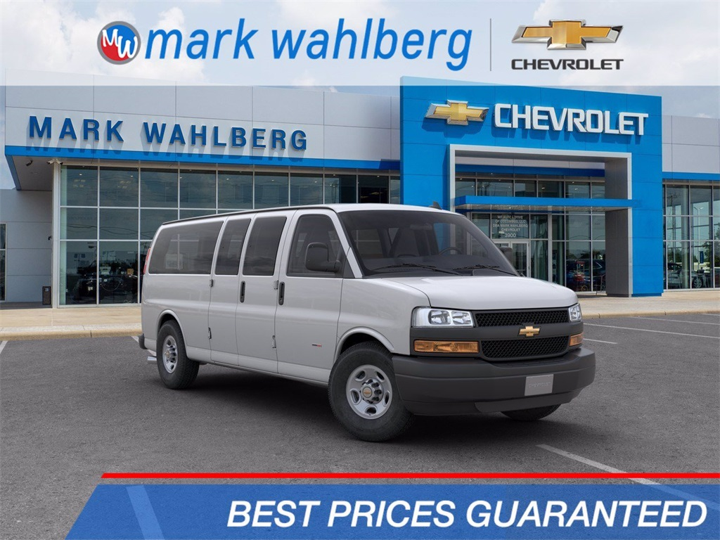 2019 Chevrolet Express 3500 4x2, Passenger Wagon #CF9T365851 - photo 1