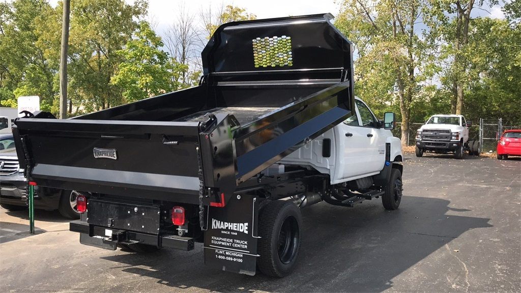 2019 Silverado Medium Duty Crew Cab DRW 4x4,  Knapheide Dump Body #CF9T827553 - photo 1